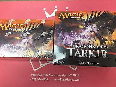 MTG Dragons of Tarkir Booster Box & Fat Pack Factory Sealed - FREE Priority Ship