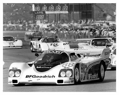 1986 Porsche 962 Race Car Goodrich Camel IMSA GP Road ATL Photo Poster zca2022