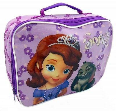 Disney Princess Sofia The First School Premium Lunch Bag Insulated Brand New