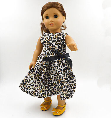 "2015 For American Girl Hot Handmade Long European noble dress 18""Doll Clothes110"
