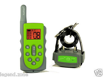 600 Meter Submersible Rechargeable Remote Dog Training Collar Stop Bark Trainer