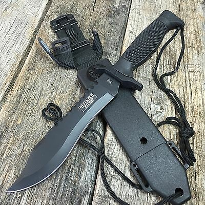 """12"""" Bowie Survival Knife Camping Hunting Tactical Combat Self Defense 5209 zix2"""
