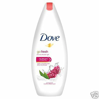 Dove Go Fresh Nourishing Body Wash Pomegranate & Lemon Verbena Shower Gel 250ml