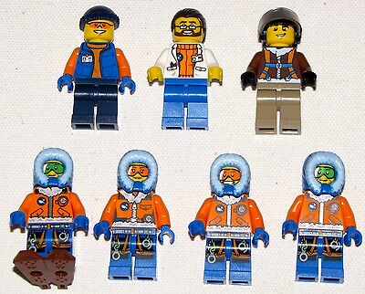 Lego New Arctic Base City Research Team Minifigures Pick Which Figures You Want