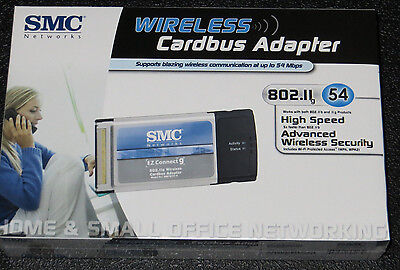 **NEW**  PCMCIA PC Card Wireless Wi-Fi 802.11G SMC Card for win 98SE/2000/XP