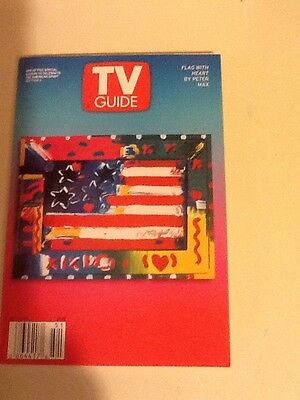 NNJ NYC area TV Guide Dec 21-28, 2001 A Christmas Story - Peter Max Cover