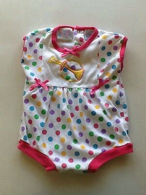 Small Steps 6-9 Months Polka Dot One Piece