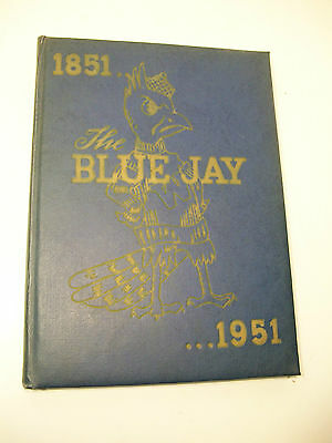 1951 The Blue Jay Westminster College Missiouri Yearbook Annual STATE HISTORY