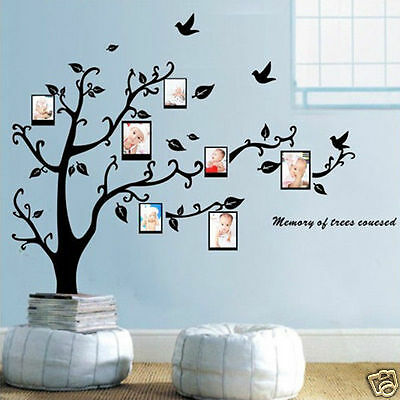 """Tree & Leaf "" New Wall Stickers Removable Art Family Decal Decor Vinyl # DIY"