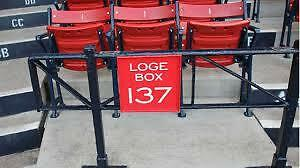 Red Sox vs. Nationals - 3 Tickets - 4/13/15 Opening Day Loge Box 137 Row AA
