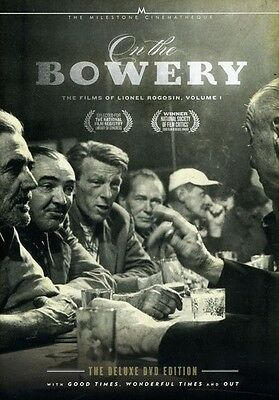On the Bowery: The Films of Lionel Rogosin, Vol. 1 [2 Discs] (2012, DVD New) WS