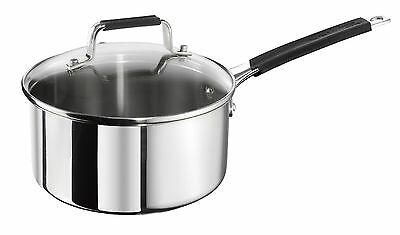Jamie Oliver Classic  Saucepan with lid, 18cm, Stainless Steel, E4362344