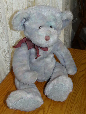 RUSS BERRIE  plush BEAR, OPAL   LARGE 16 INCH