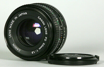 Canon FD 50 mm 1.8 de-clicked for video. Great shape !