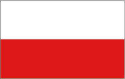 POLAND FLAG 3' x 2' Polish Flags