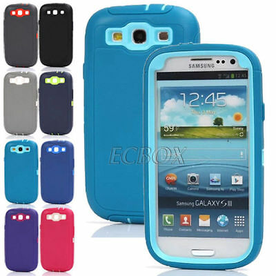 Hybrid Heavy Duty 3in1 Combo Armor Superior Case Shell For Samsung Galaxy Series