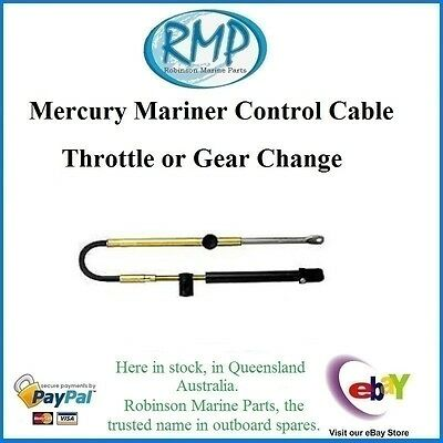 A Brand New Mercury Mariner Control Cable 15' Throttle Or Gear Shift # VP83315