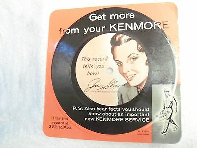 Get More from your Kenmore record Jean Shaw 93304 Home Economics Laboratory '60s