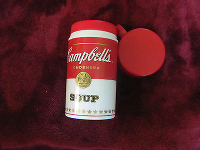 """Campbell's Soup Vintage 1998  6 3/4"""" Thermos"""