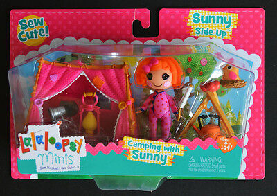 Lalaloopsy Mini Sunny Side Up Camping with Sunny, NEW