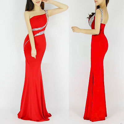GK 2015 BEADED Long Bridesmaid Dress Evening Prom Formal Party Ball Gown Dresses