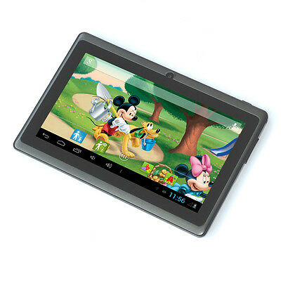 """Black 7"""" Google Android 4.2 Tablet PC MID for Kids Children 1.0GHz US Shipping"""
