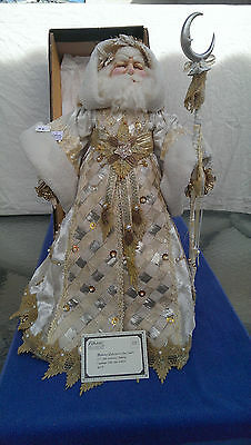 Katherine's Collections Papa Snowflake Doll in Mint Condition Free Shipping
