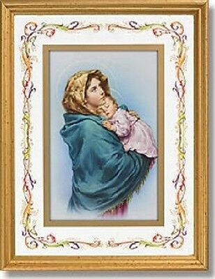 Madonna Of The Streets Jesus Child Print In Frame Catholic Gift Mary Christ Holy