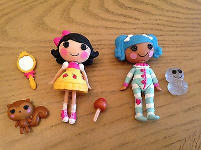 Mini Lalalloopsy 2 Dolls And Accessories Very Cute Collectibles
