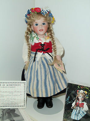WENDY LAWTON MIDSOMMAR SWEDEN 1990 CHERISHED CUSTOMS VERY LIMITED COMPLETE