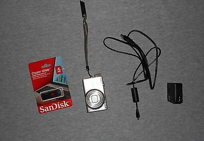 Nikon COOLPIX S6100 Touch Screen Camera - Good condition - Lots of photos -