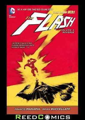 FLASH VOLUME 4 REVERSE GRAPHIC NOVEL Paperback Collects (2011) #20-25 and #23.3