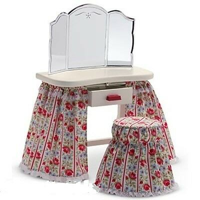 AMERICAN GIRL MOLLY'S VANITY TABLE NEW NRFB