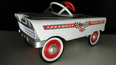 Pedal Car 1957 Plymouth Rare Vintage Classic Indy Race Hot Rod Midget Show Model