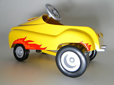 Pedal Car Vintage Classic Ford Hot T Rod 1940s A Rare Race Midget Show Model