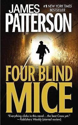 FOUR BLIND MICE & MARY MARY~  TWO  Alec Cross Thrillers by James Patterson~ PBs