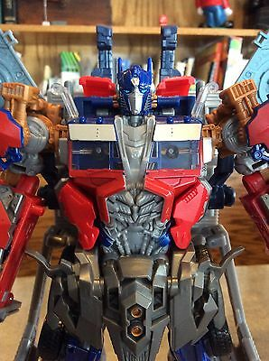toy Transformers Dark of the Moon DOTM Ultimate Optimus Prime #28748 Incomplete