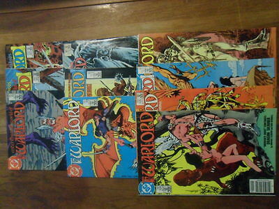VINTAGE DC COMIC BOOKS LOT OF 10 THE WARLORD (LOT 2)