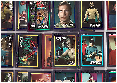 32 STAR TREK The Next Generation movie 25th Anniversary Trading Cards 1991 Impel