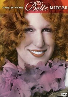THE DIVINE BETTE MIDLER DVD, NEW & SEALED, RARE AND HARD TO FIND