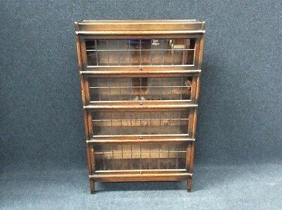 Victorian Edwardian Antique Oak Globe Wernicke Library Bookcase More In Stock