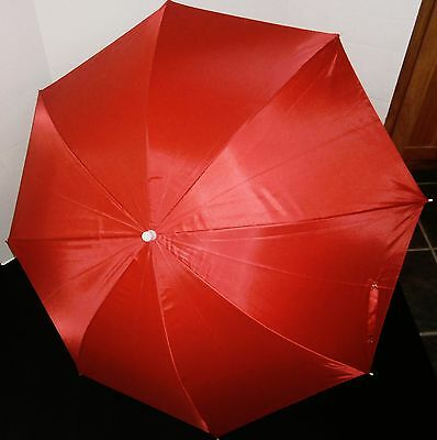 CLAMP-ON UMBRELLA  UPF 50 Protection RED