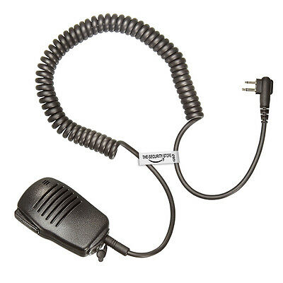 Heavy Duty Kevlar Speaker for MOTOROLA Radio (2 Pin) The-Security-Store