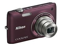 Nikon COOLPIX S4100 14.0 MP Digital Camera - Plum (26261)