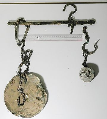 Zurqieh - Ancient Byzantine, 6Th - 7Th Cent. A.d , Bronze Weighing Scale