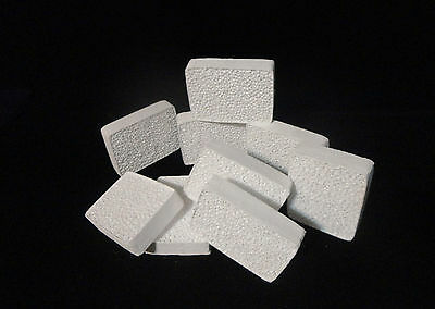 HIGH PURITY RECTANGULAR SOAP BAR SIZED RETICULATED SPONGE ALUMINA 20ppi No.:168