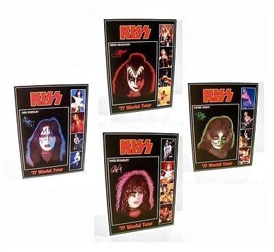 KISS Set OF 4 1977 Tour Solo Album Stand-Up Displays