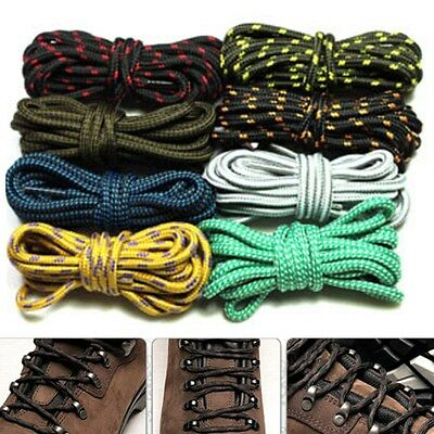 Strong Round Hiking Walking Skate Boots Shoelaces Bootlaces Safety Shoe Laces
