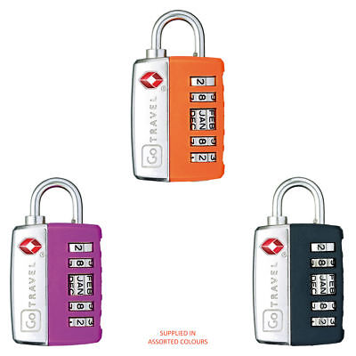 Go Travel - My Date Lock (Assorted Colours) - Uses Memorable Date As The Code