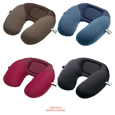 Brand New - Go Travel - Bean Snoozer (Assorted Colours) Travel Pillow - FREE P&P